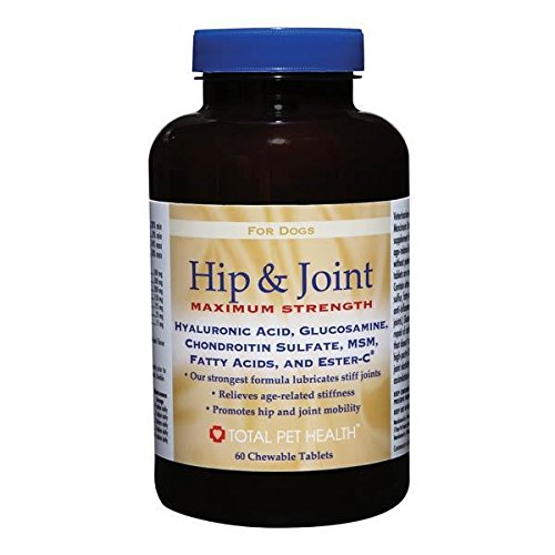 Dog Supplements 60 or 180 Count Hip & Joint Maximum Strength Tablet Vitamins(180 Tablets)