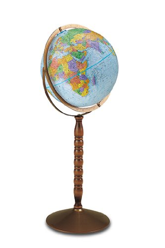 world globes on a stand - 7