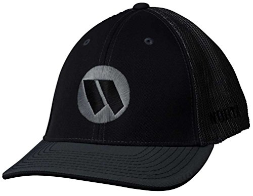 Worth 3D Embroidered Mesh Baseball Trucker Hat, Black/Charcoal. WTRUCK-BC-01 S/M (Embroidered Softball Cap)