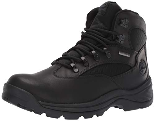 Timberland Men's Chocorua Trail Mid Waterproof Hiking Boot, Black