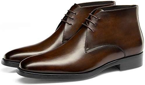 tan dress boots mens