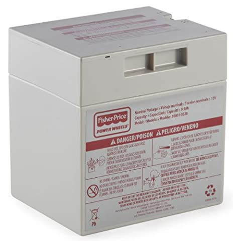 Fisher-Price Power Wheels 12-volt Rechargeable Battery (Parts For Fisher Price Jeep)