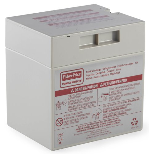 - Power Wheels 12-Volt Rechargeable Battery
