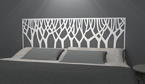 (Nouveau Trees Pattern Headboard Decal - Bed Head Vinyl Wall Sticker - Removable Bedroom Decor - Headboard Wall Graphic (full 54