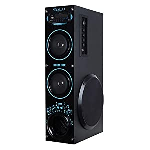 Bencley Boom Box Bluetooth Tower Speaker with AUX Function, USB Support, FM, Karaoke and Mic Port