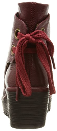 FLY LondonYama - Botas Mujer Rojo - Rouge (Mousse Cordoba Red)