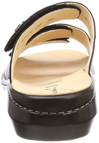 Black Womens Sandals Think 88424 Camilla Leather 64W6FnRO