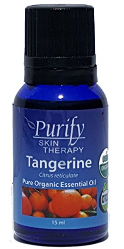 Tangerine Essential Oil Organic, 100% Pure 15 ml