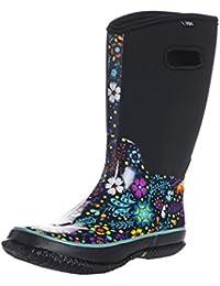 WTW Women's Neoprene Rubber Snow Boots For Ladies Winter Warm