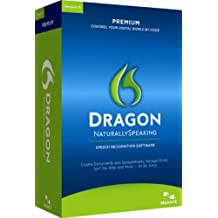 Dragon Naturally Speaking Premium 11, English