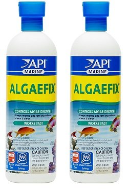 (2 Pack) Algaefix Marine Water Conditioner- 16 Ounces each