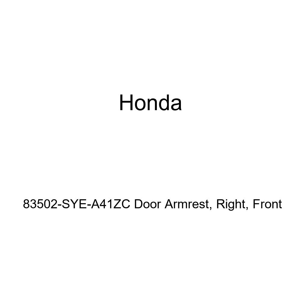 Right Genuine Honda 83502-SYE-A41ZC Door Armrest Front