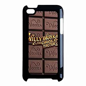 New Style Willy Wonka Ipod Touch 4th Case,Willy Wonka Funda For Ipod Touch 4th