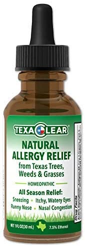 TexaClear Effective Homeopathic Immunotherapy Sublingual