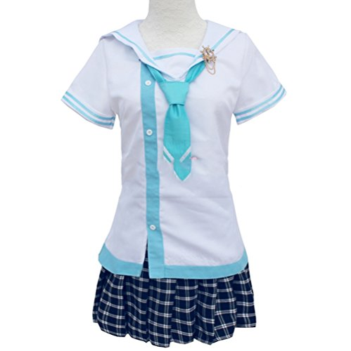 Nuoqi Love Live! Sunshine! Umi Sonoda Women's Anime Cosplay Costume Umi Sonoda Uniform Full Set