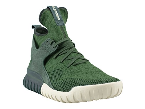 adidas Tubular X Primeknit Clear Granite Granite shadow green/shadow green/cream