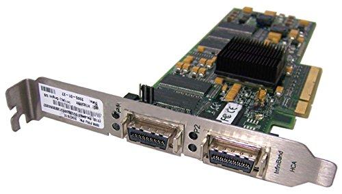 IBM - Topspin InfiniBand 10 Gb 4x PCI-Ex Dual Port 26K7618 MTLP25208-c HCA 128MB - 26K7618