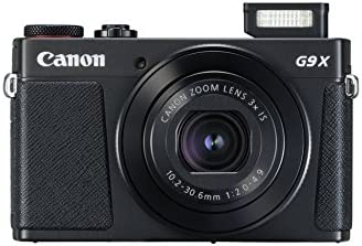 Canon PowerShot G9 X Mark II cámara que usan los youtubers