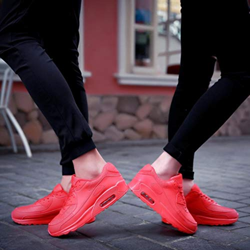 Gyoume Teen School Sports Shoes Women Ankle Boots Slip On Shoes Sports Shoes Candy Color Student Net Shoe by Gyoume (Image #2)