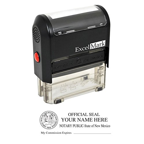 ExcelMark Self Inking Notary Stamp - New ()