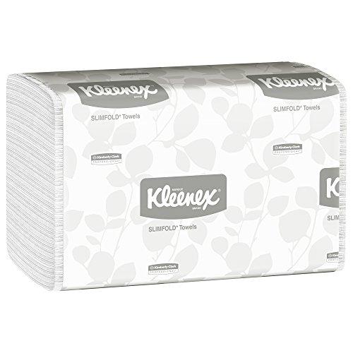 Kleenex 04442 Slimfold Paper Towels  7 1 2 X 11 3 5  White  90 Per Pack  Case Of 24 Packs