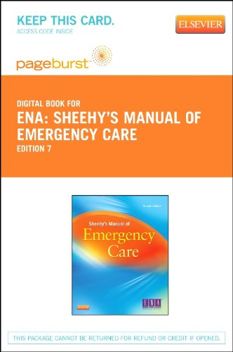 Sheehy's Manual of Emergency Care - Elsevier eBook on VitalSource (Retail Access Card), 7e