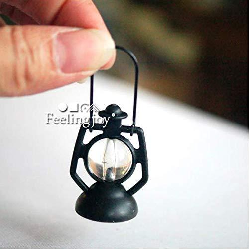 1:12 Scale Dollhouse Miniature Lantern Dummy Kerosene Lamp Light
