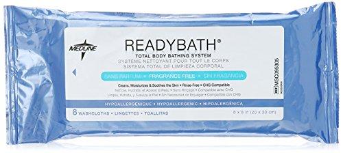 Medline Readybath Complete Washcloths, 240 Count