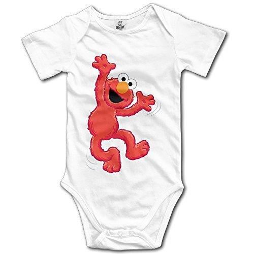 Cute Popular Cute Red Muppet Elmo Newborn Baby Onesie Bodysuit
