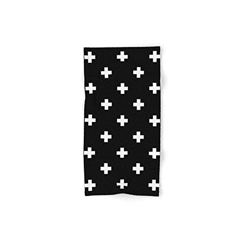 - Society6 Swiss Cross Pattern Set of 4 (2 hand towels, 2 bath towels)