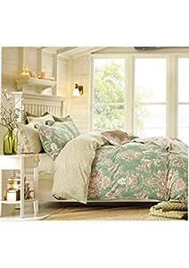 MODERN HOMES King Size, Cotton,Print Pattern, Multi Color - Comforter Sets