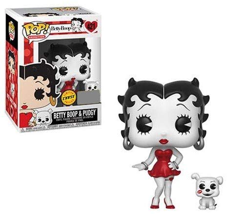 Exclusive E.E Funko POP Animation Betty Boop Chase Variant Figure