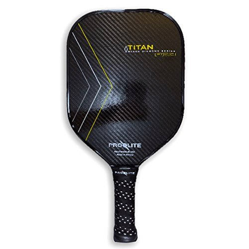 (ProLite TITAN Pro - Black Diamond Series - Gold Pickleball)