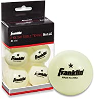 Franklin Sports 1 Star 40mm Table Tennis Balls-Pack of 6