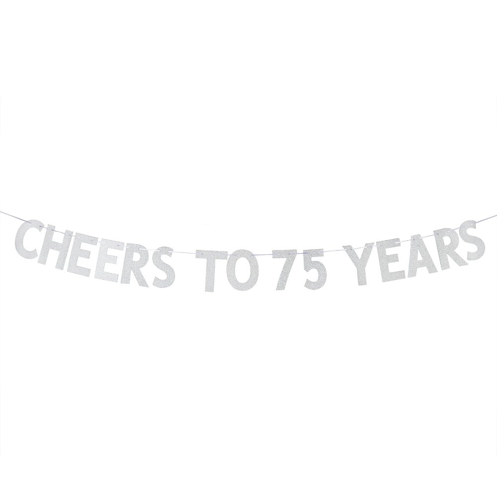 WeBenison Cheers To 75 Years Banner