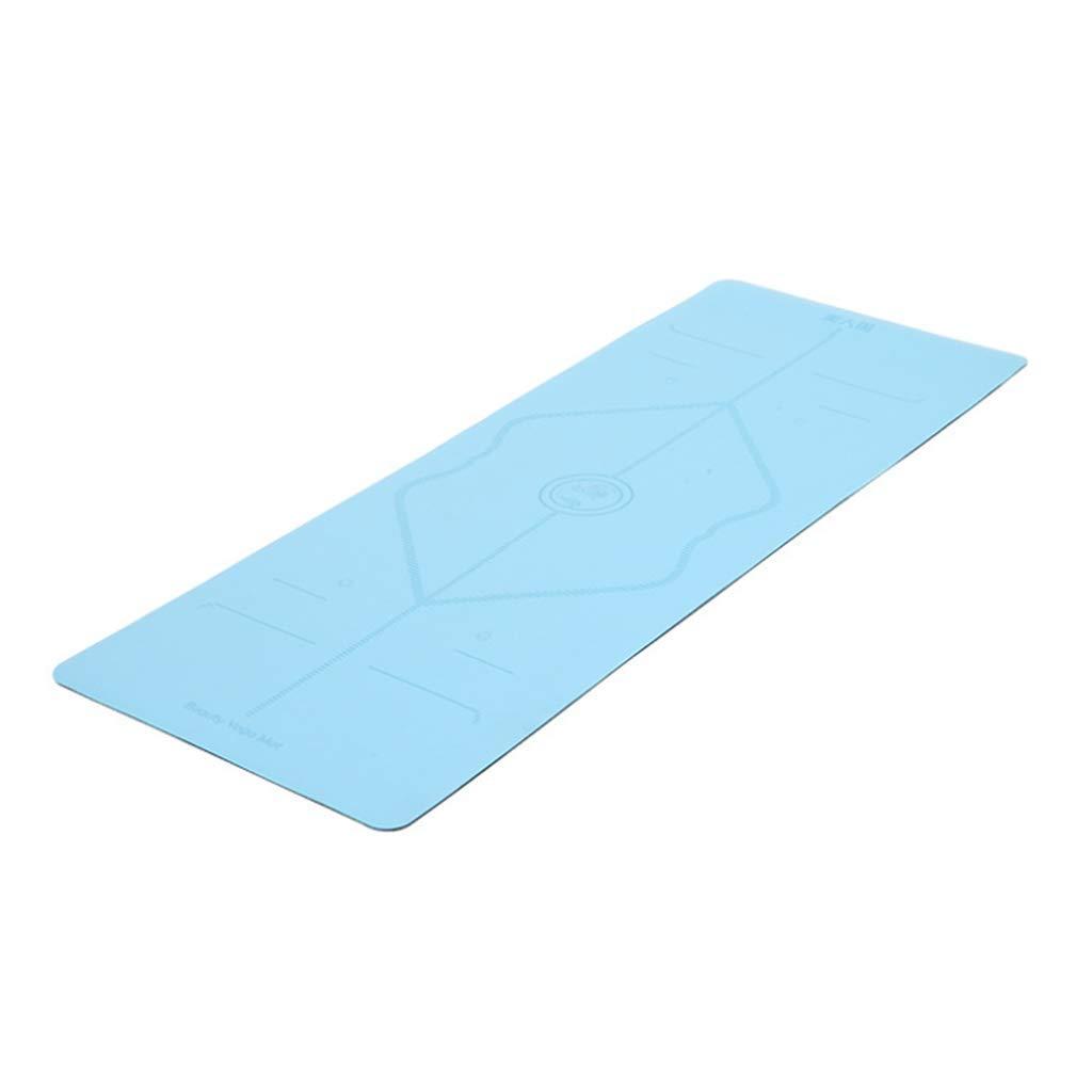 ZCP Yoga-Matte, 6mm Anti-Rutsch-Yoga-Matte, Yoga Zubehör Yoga Ball Rubber Mat, Buy One Get One Free