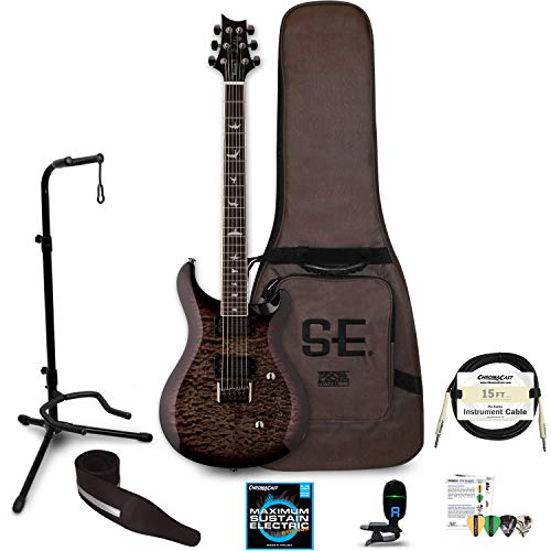 PRS SE Mark Holcomb Electric Guitar with Accessories, Holcomb Burst