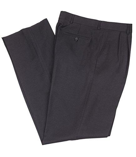 Mr. Leggs Wrinkle Resistant Washable Gabardine Men's Dress Pants, Pleated - Navy 38