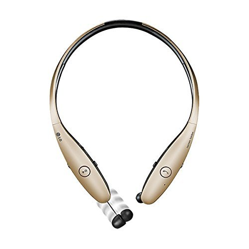 LG Electronics Tone Infinim HBS-900 Bluetooth Wireless Stereo Headset - Gold (Certified Refurbished)