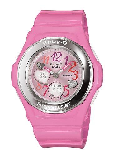 Casio Women s BGA101-4B Baby-G Gem Dial Analog Sport Watch