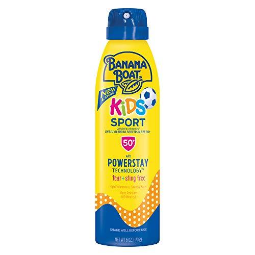 (Banana Boat Kids Sport Tear-Free Sunscreen Spray)