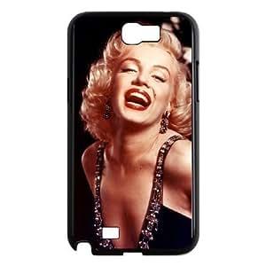 Samsung Galaxy Note 2 N7100 Cell Phone Case Black Marilyn Monroe AFK334995