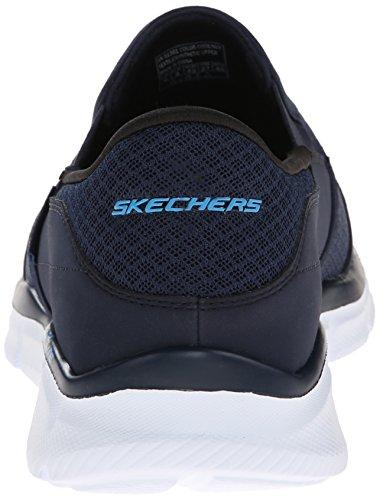 Persistent Skechers Blu Equalizer Uomo Nvy Mocassini Navy 8HOxPfHw