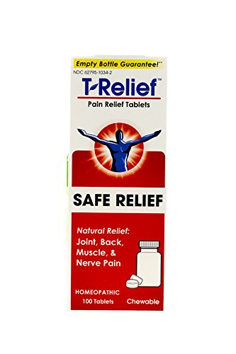 T-relief Pain Relief 100 Tablets (3 Pack) (Tablets Relief 100)