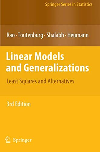Linear Models and Generalizations: Least Squares
