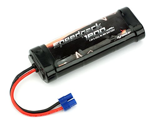 Dynamite Speedpack 1800mAh Ni-MH 6-Cell Flat Battery with EC3 ()