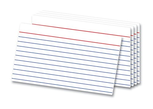 Officemax Index Cards - OfficeMax Heavyweight Index Cards, 3