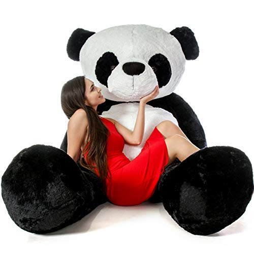 Giant Teddy Brand Giant Stuffed Panda Bears (7 Foot)]()