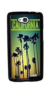 California Funny Hard Case for LG Optimus L90 ( Sugar Skull )