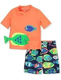 e2107b814b Boy's Swimwear Sets | Amazon.com